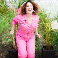 Sarah Heard Write pink jumpsuit.jpg