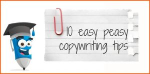ten easy peasy copywriting tips