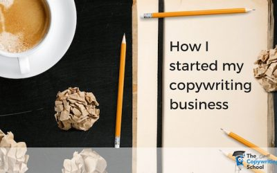 How I started my copywriting business