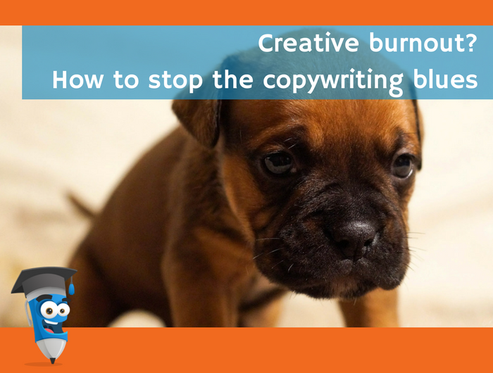 copywriting blues burnout