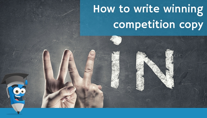 How to write winning competition copy