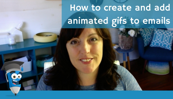 How to create and add animated gifs to emails