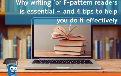 Why writing for F-pattern readers is essential – and 4 tips to help you do it effectively