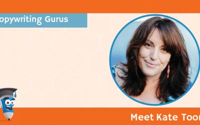 Copywriting Gurus: Meet Kate Toon