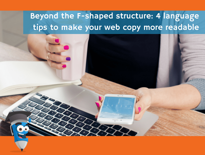 Copyschool Beyond F-shape structure copy tips blog image