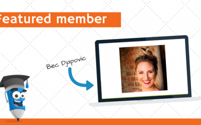 Featured member: Bec Djapovic