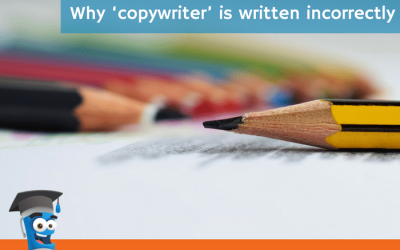 Why 'copywriter' is written incorrectly