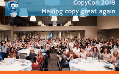 CopyCon 2018. Making copy great again.