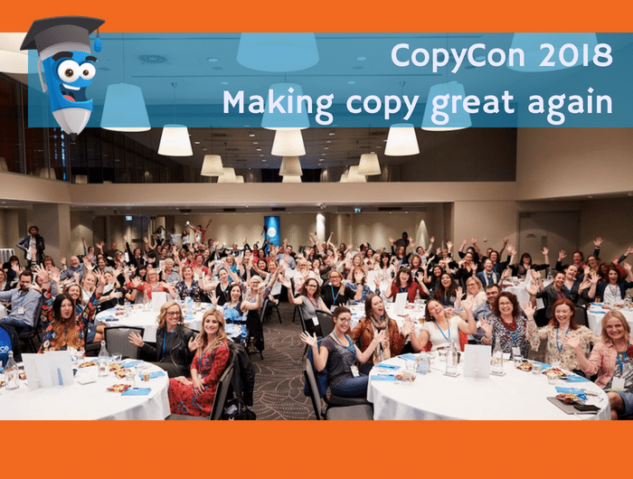 CopyCon 2018 Making copy great again