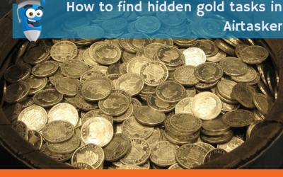 How to find hidden gold tasks in Airtasker