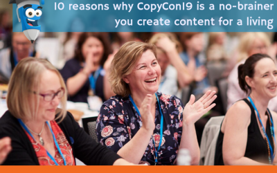 10 reasons why you MUST head to CopyCon19