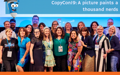 COPYCON19: A picture paints a thousand word nerds