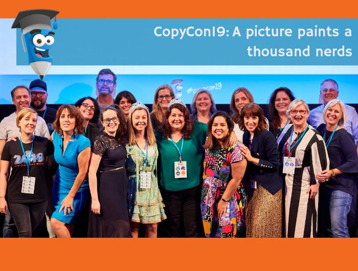 COPYCON19: A picture paints a thousand word nerds