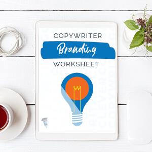 Copywriter Branding Worksheet
