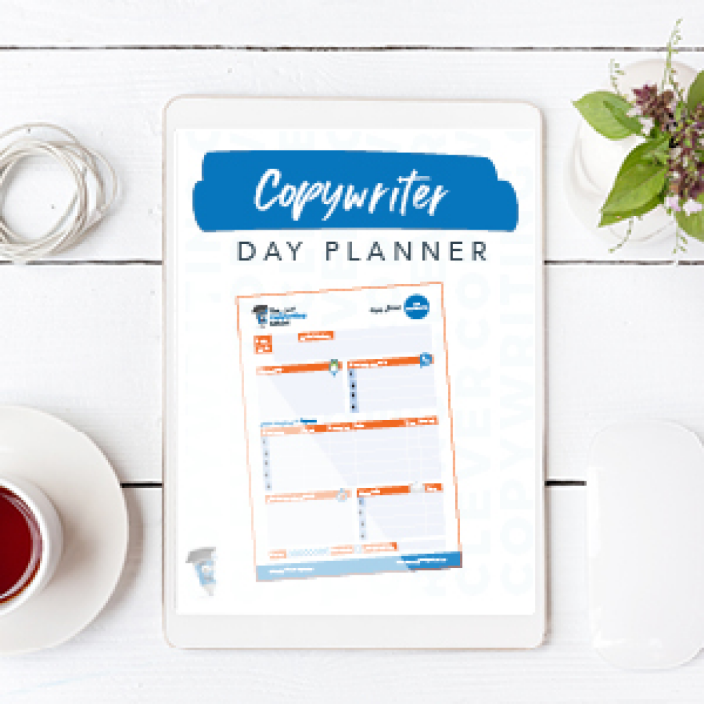 Copywriter day planner