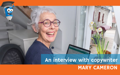 An interview with Copywriter Mary Cameron