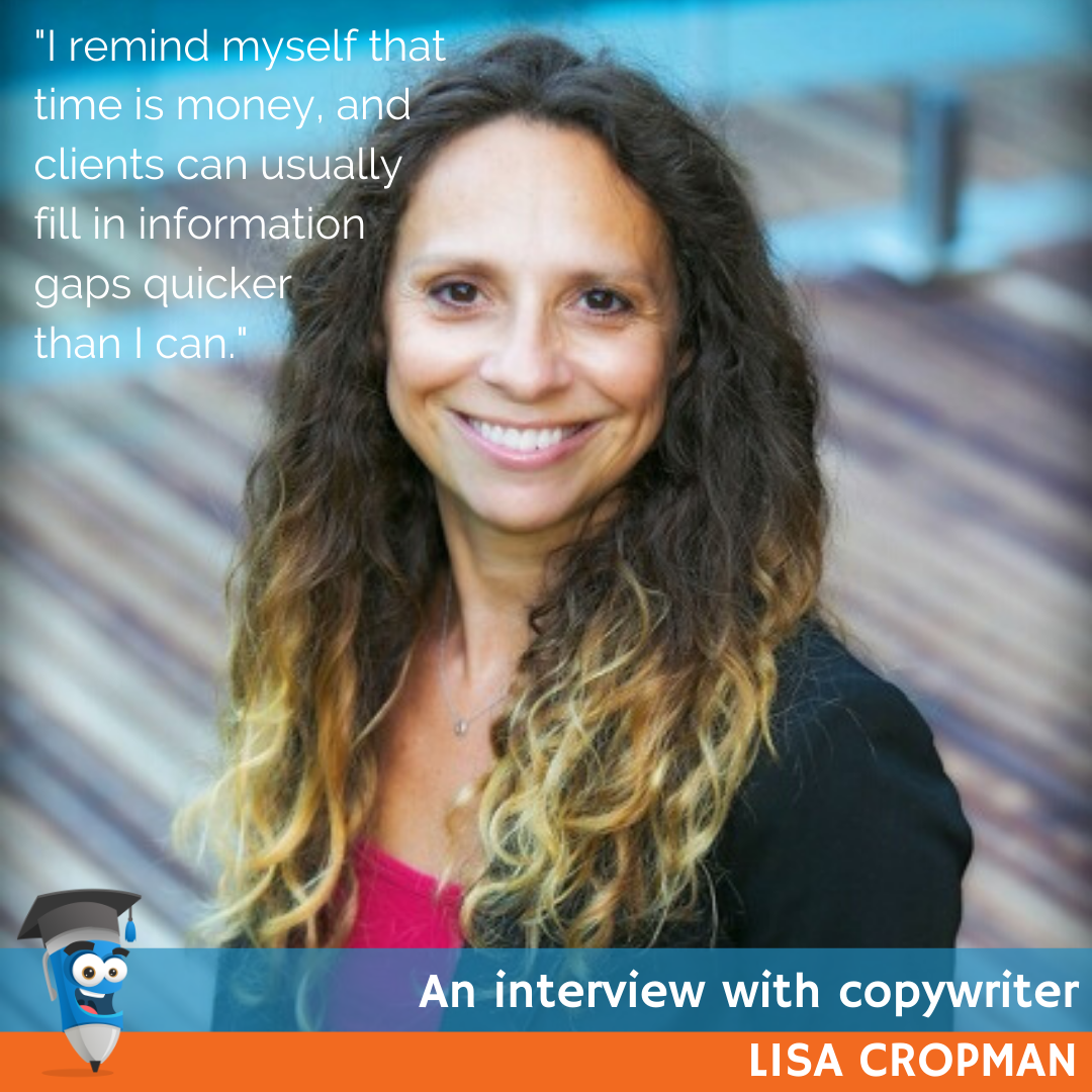 Lisa Cropman Copywriter