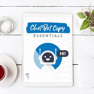 Chat bot copywriting checklist