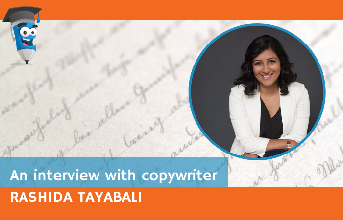 An interview with Copywriter Rashida Tayabali
