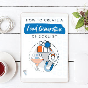 How to create a Lead Generation Checklist Worksheet