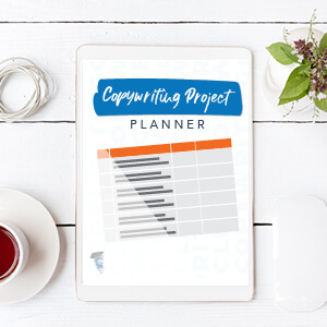 Copywriting Project Planner-Template