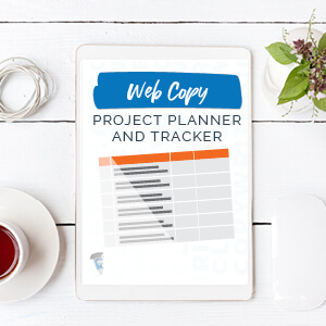 Website Copy Project Planner and Tracker