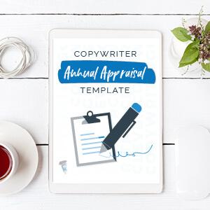 Copywriter Annual Appraisal Template